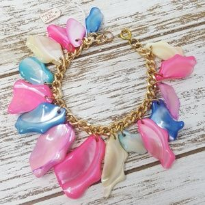 Vintage Mother of Pearl Bracelet New Old Stock